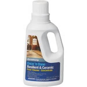 armstrong once n done floor cleaner concentrate 32oz once n done cleaner walmart