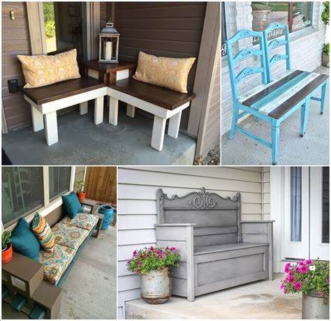 interior design for home 10 awesome diy front porch bench ideas