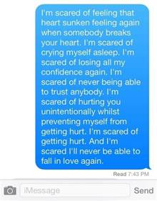 Love Paragraphs for Him Text Message