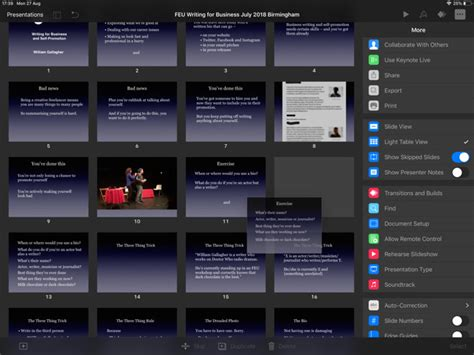 apples keynote   mac  ipad  prepare compelling