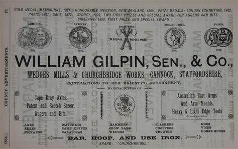 william gilpin senior   graces guide