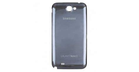 samsung galaxy note  battery cover replacement gray