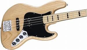 Fender Deluxe Active Jazz Bass U00ae  Ash  Maple Fingerboard
