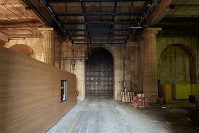 Museum Philadelphia Gehry Frank Inside North Entrance