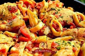 Cuisse De Poulet A La Poele : recette des cuisses de poulet la semoule petits plats ~ Mglfilm.com Idées de Décoration
