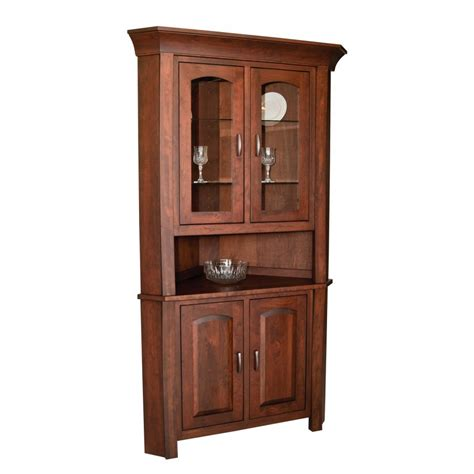 Woodbury Collection Corner Hutch  Amish Crafted Furniture. Red Bookshelf. Battery Operated Water Fountain. Murphy Bed With Desk. Ikea Home Office. Smith Brothers Furniture Reviews. Murphy Bed Depot. Lawn Alternatives. Fireplace Dimensions