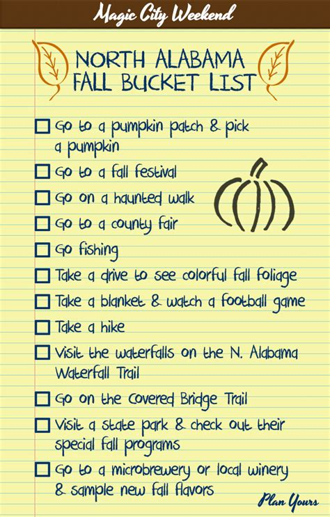 bucket list this fall list will help you enjoy the autumn experience