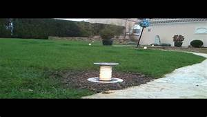 Eclairage Exterieur Jardin : eclairage de jardin spot de gazon ou autre youtube ~ Melissatoandfro.com Idées de Décoration