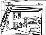 Garages Snubberx Printablecolouringpages sketch template