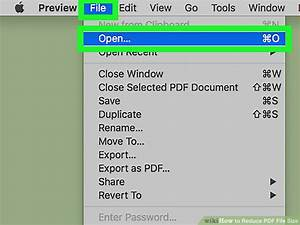 3 ways to reduce pdf file size wikihow for Pdf document versions
