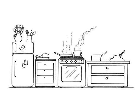 dessin casserole cuisine coloriage cuisine les beaux dessins de autres à imprimer