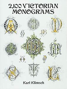 Charted Monograms For Needlepoint And Cross