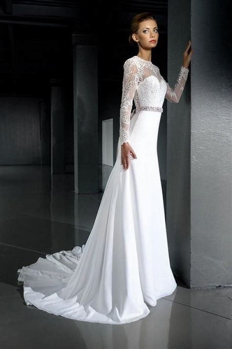 open  wedding dresslace wedding dress long sleeve