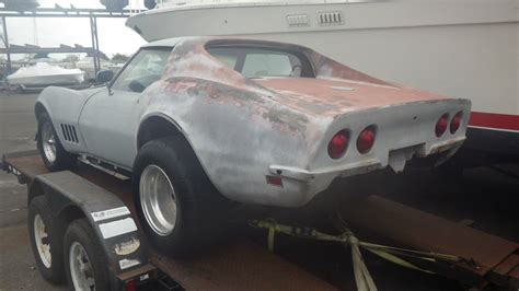 For Sale Usa by 1969 Corvette Project Car Big Block 427 390 Hp 4 Speed