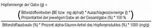 Hopfengabe Berechnen : hausbrauerei storchen br u bierwissen ~ Themetempest.com Abrechnung