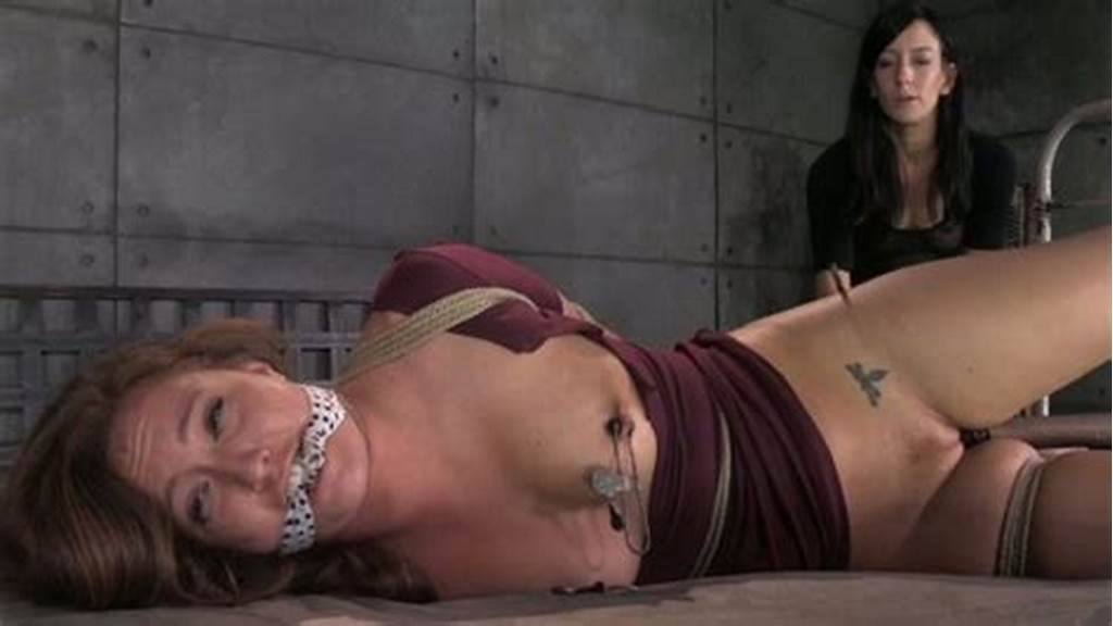 #Tied #Up #Prison #Girl #Gets #Her #Pussy #Punished #With #Black #Sex #Toy