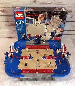 Lego 3433 Ultimate Arena 2003 Nba Basketball Court