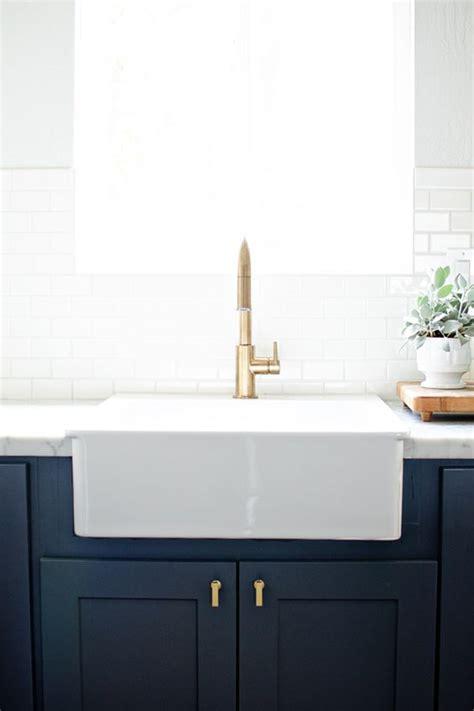 kitchen sink hardware brass hardware navy white brass kitchen 2737