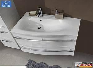 Waschtisch Mit Unterschrank 90 Cm : marlin motion waschtisch set 90 cm mnwug92dl r mnwm90l r impuls home ~ Markanthonyermac.com Haus und Dekorationen