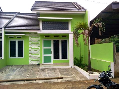 cat luar rumah hijau joy studio design gallery  design