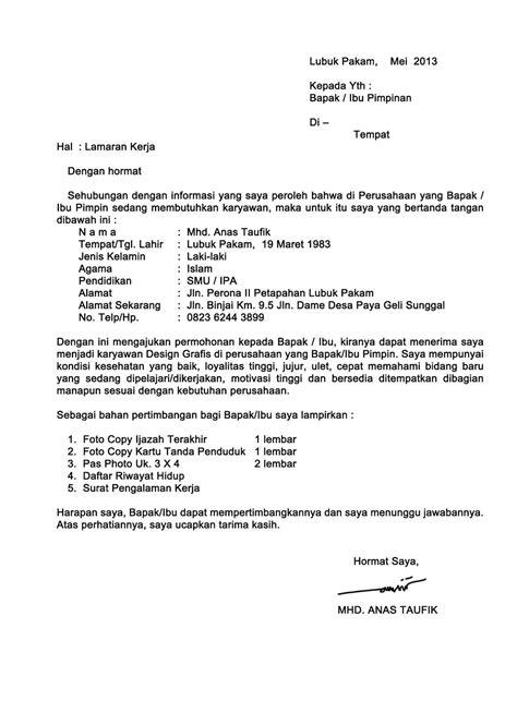 Contoh Kepala Surat Lamaran Kerja by Kumpulan Contoh Surat Lamaran Kerja Ben Contoh
