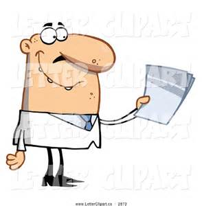 Doctor Taking Notes Clip Art