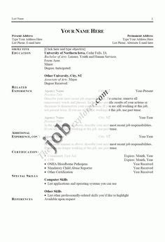 Exles Of Resume Templates by Major Resume Exle Resume Exles Sle