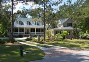Images Low Country Living by Low Country Style House Plans With Front And Rear Porches