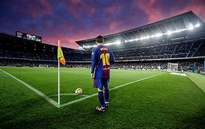 Download Wallpapers Lionel Messi Barcelona La Liga