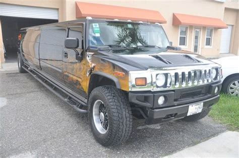 Buy Used Hummer H2 Stretch Limo 18 Pass Las Vegas Show Car