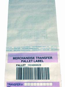 Pallet Tag  Label  Transfer Tape  Barcode