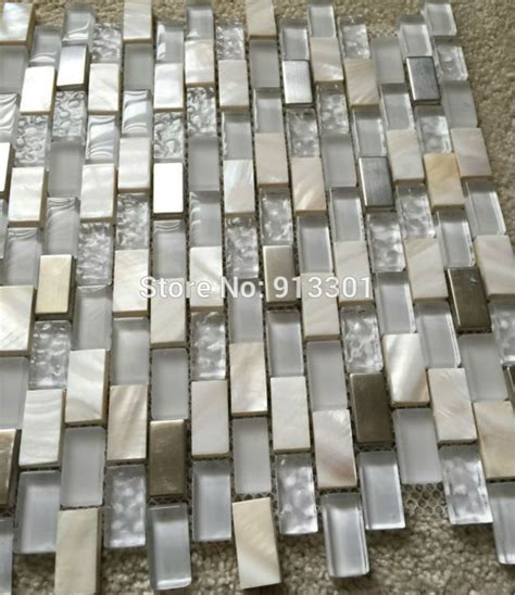 Glass Backsplash Tile Cheap by Of Pearl Mosaic Tiles Frosted Glass Tile