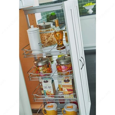 kitchen pantry storage systems utility cabinet pull out richelieu hardware 5496