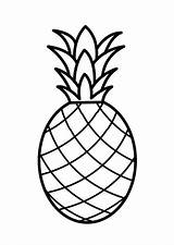 Pineapple Coloring Drawing Pernambuco Pages Pale Colouring Printable Fruit Sheets Template Clipart Drawings Flamingo Fruits Colornimbus Painting Printables Templates Sketch sketch template