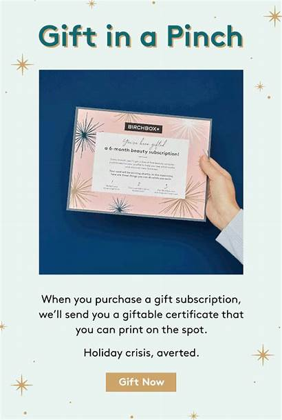 Gift Birchbox Subscription Subscriptions Monthly Deal Weekend