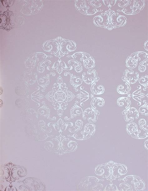 Living Room Wallpaper Lilac by Zecca Wallpaper Nurseries Maternity Style