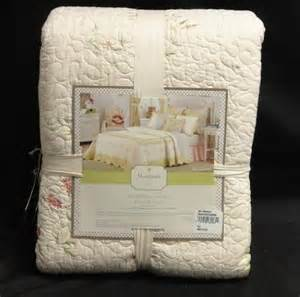 janes farm bedding prairie bloom quilted bedspread 96x110in new ebay