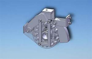 Mechanism for coverting linear motion in rotation | 3D CAD ...