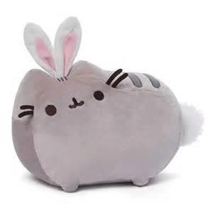 pusheen the cat plush pusheen the cat easter bunny 11 1 2 inch plush gund