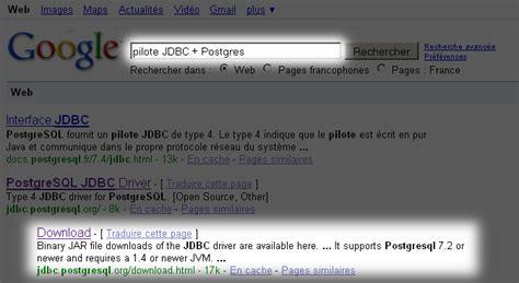 téléchargement accès pilote jdbc driver