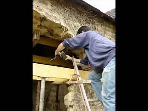 renover une maison longere realisation d39une ouverture With ouvrir un mur porteur en pierre