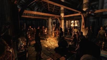 Skyrim Taverns Tavern Fantasy Inns Mods Pub