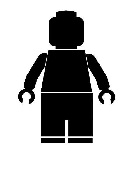 lego man stencil party ideas pinterest lego men