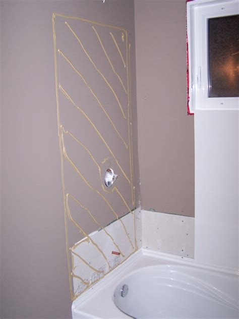 Tub Surround Installation by How To Install A Bath Tub Surround