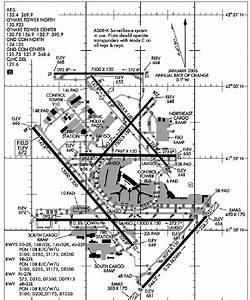 Chicago O U0026 39 Hare  Ord  Airport Diagram