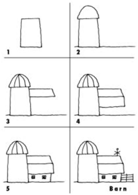 How To Draw A Barn by How To Draw A Barn House And Fence Step 5 Active Faith