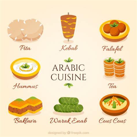 set de cuisine vintage dibujado a mano la colección cocina árabe descargar