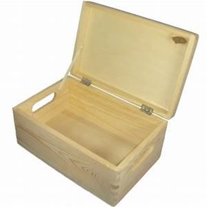 Spielzeugkiste Holz Mit Deckel : allzweckkiste holzkiste kiste aufbewahrungsbox mit deckel aus holz ~ Whattoseeinmadrid.com Haus und Dekorationen