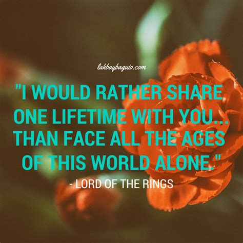 Lord Of The Rings Quotes About Love. Quotesgram