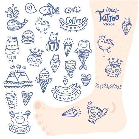 desenho de tatuagem de vetorial de baixar grátis
